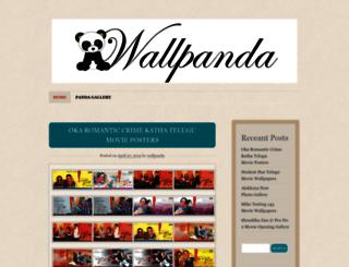 wallpanda.wordpress.com screenshot
