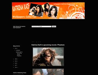 wallpapers-katrina.blogspot.com screenshot