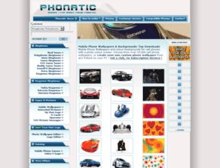 wallpapers.phonatic.net screenshot