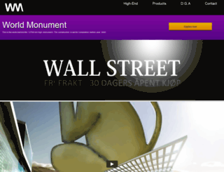 wallstreet.no screenshot
