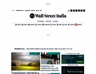 wallstreetitalia.com screenshot