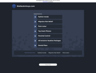 wallteckinfosys.com screenshot