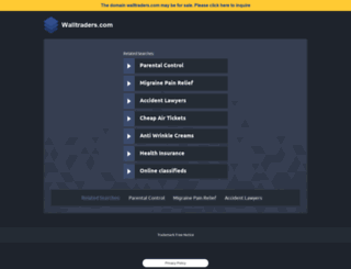 walltraders.com screenshot