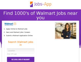 walmart.jobs-app.com screenshot