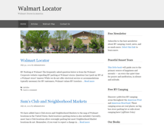 walmartatlas.com screenshot