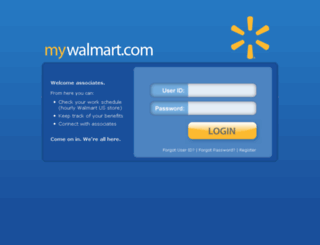 walmartbenifits.com screenshot
