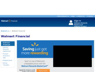 walmartcanadafinancialservices.ca screenshot