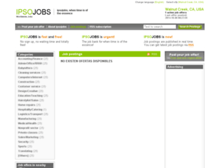 walnutcreek.ipsojobs.com screenshot