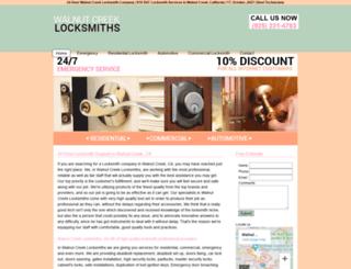 walnutcreeklocksmiths.biz screenshot