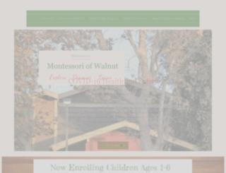 walnutpreschool.com screenshot