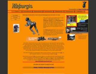 walpurgis.de screenshot