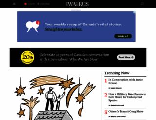 walrusmagazine.com screenshot