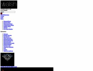 walshjewellery.com screenshot