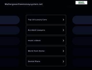 waltergreenfreemoneysystem.net screenshot
