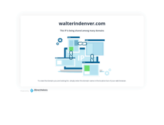 walterindenver.com screenshot