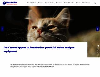 waltham.com screenshot