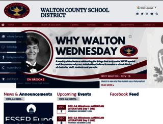 walton.k12.ga.us screenshot