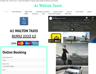 waltontaxis.org screenshot