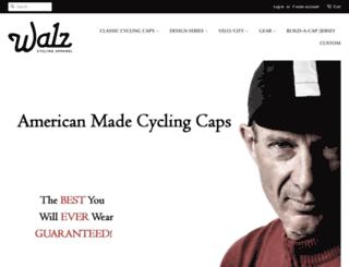 walzcaps.com screenshot