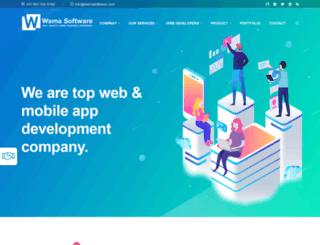 wamasoftware.com screenshot