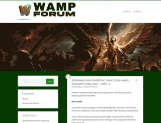 wamp-forum.com screenshot
