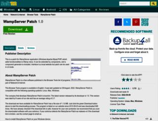 wampserver-patch.soft112.com screenshot