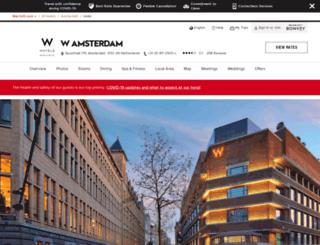 wamsterdam.com screenshot