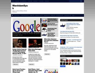 wanadamsyah.blogspot.com screenshot