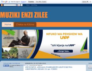 wanamuzikiwatanzania.blogspot.com screenshot