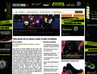 wanarun.net screenshot