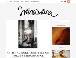 wanawana.net screenshot