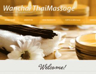 wanchaithaimassage.com screenshot