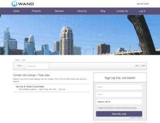 wandcorp.applicantpro.com screenshot