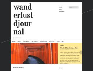 wanderlustdjournal.com screenshot
