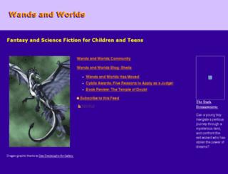 wandsandworlds.com screenshot