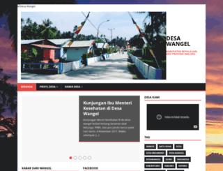 wangel.desa.id screenshot