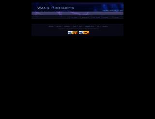 wangproducts.com screenshot