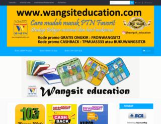 wangsiteducation.com screenshot