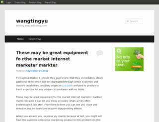 wangtingyu1009.blog.com screenshot