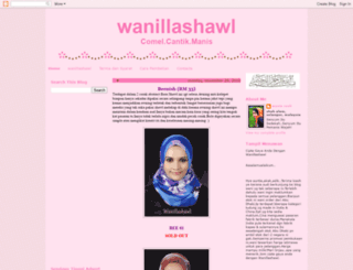wanillashawl.blogspot.com screenshot