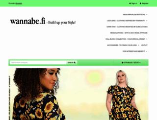 wannabe.fi screenshot