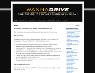 wannadrive.com screenshot