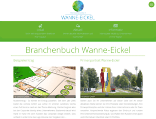 wanne-eickel-links.de screenshot