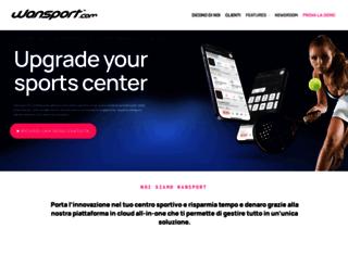 wansport.com screenshot