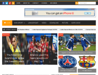 wansport24h.com screenshot