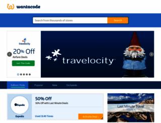 wantacode.com screenshot