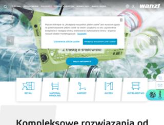 wanzl.pl screenshot