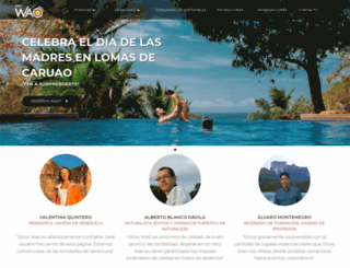 waoturismo.com screenshot