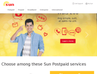 wap.suncellular.com.ph screenshot
