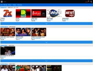 wap.zengatv.com screenshot